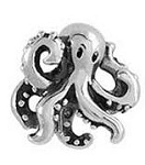 Octopus Floating Charm