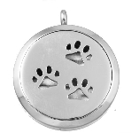 Paws Essential Oil Diffuser Locket