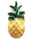 Pineapple Floating Charm