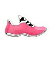 Pink Track Shoe Floating Charm