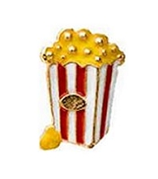 Pop Corn Floating Charm