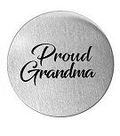 Proud Grandma 30mm Plate