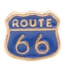 Route 66 Floating Charm