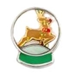 Christmas Rudolph Reindeer Floating Charm