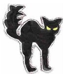 Black Cat Floating Charm