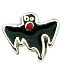 Scary Halloween Ghost Floating Charm