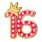 Sweet 16 Floating Charm