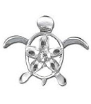 Tropical Turtle Floating Charm