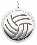 Volleyball Essential Oil Diffuser Locket