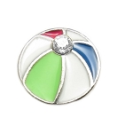Beach Ball Floating Charm