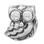 Modern Owl Floating Charm