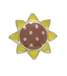 Sunflower Floating Charm