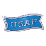 US Air Force Floating Charm