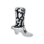 Western Boot Floating Charm