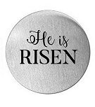 He is Risen 30mm Plate