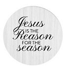 Jesus is the Reason 30mm Plate