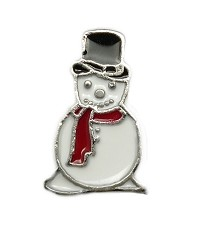Classic Snow Man Floating Charm