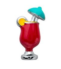 Mixed Drink Floating Charm